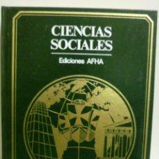 Libros de segunda mano: CIENCIAS SOCIALES, EDICIONES AHFA - 1977. Lote 42935804