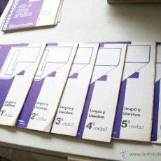 Libros de segunda mano: GRADUADO ESCOLAR, CURSO ABREVIADO PARA REPETIDORES-ÁREA DE LENGUA ESPAÑOLA-LENGUA Y LITERATURA-SF. Lote 43592280