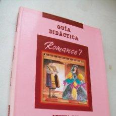 Libros de segunda mano: GUÍA DIDÁCTICA-ROMANCE 7.- LENGUA EGB-SANTILLANA-1990.. Lote 43719646