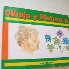 Libros de segunda mano: DIBUJO Y PINTURA 6-SANTILLANA-1990-. Lote 43719871