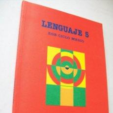 Libros de segunda mano: LENGUAJE 5 EGB, CICLO MEDIO-SANTILLANA-1989-. Lote 43720019