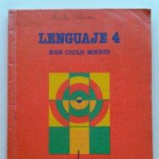 Libros de segunda mano: LENGUAJE 4 - 4º EGB CICLO MEDIO - SANTILLANA - 1989. Lote 43722311