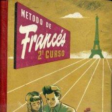 Libros de segunda mano: MÉTODO FRANCÉS SEGUNDO CURSO BRUÑO (1953). Lote 43769511