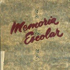 Libros de segunda mano: MEMORIA ESCOLAR LA SALLE BONANOVA 1954-1955. Lote 55119614