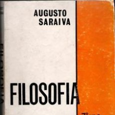 Libros de segunda mano: FILOSOFÍA, AUGUSTO SARAIVA, 7º ANO LINEAL. Lote 175029397