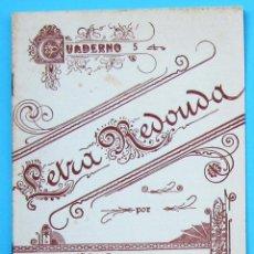 Libros de segunda mano: EJERCICIOS DE CALIGRAFÍA. LETRA REDONDA. Nº 5. POR J. FÁBREGAS. LA ESCOLAR, SIN FECHA.. Lote 143159564