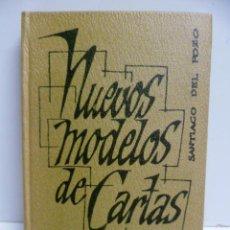 Libros de segunda mano: NUEVOS MODELOS DE CARTAS DE TODA CLASE - DEL POZO, SANTIAGO. Lote 44221692