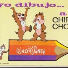 Livros em segunda mão: YO DIBUJO A CHIP Y CHOP. WALT DISNEY Nº 2. (21X27) 32 PÁGINAS. SUSAETA 1970.. Lote 44322366