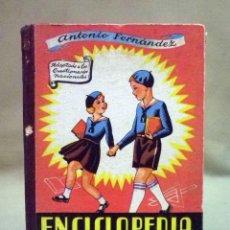 Libros de segunda mano: LIBRO DE TEXTO, ENCICLOPEDIA PRACTICA, PERIODO ELEMENTAL, GRADO 1º, 173 PAGINAS, SALVATELLA, 1956. Lote 44711946