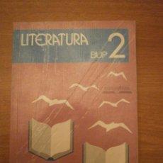 Libros de segunda mano: LIBRO DE LITERATURA - BUP 2º. Lote 44713263