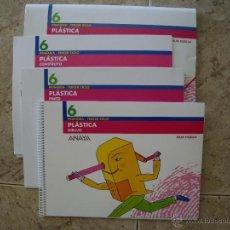 Libros de segunda mano: PLASTICA 6º - DEJA HUELLA - ( 6º DE PRIMARIA ) ANAYA - SIN USAR -. Lote 44719587