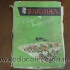 Libros de segunda mano: BIOLOGIA, CURSO PREUNIVERSITARIO. Lote 44819339