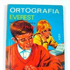 Libros de segunda mano: ORTOGRAFIA. EVEREST. CURSOS 7º Y 8º. 1970. PRIMARIA. Lote 44865408