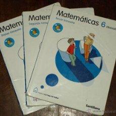 Libros de segunda mano: MATEMATICAS 3º PRIMARIA SANTILLANA. PROYECTO LA CASA DEL SABER. USADO. VER FOTOS.. Lote 45178113