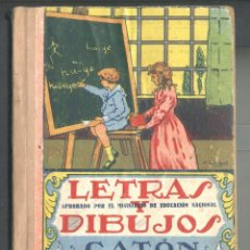 Libros de segunda mano: LETRAS Y DIBUJOS JOSE Mª CASTRO SANCHO (ED. FERRANDIS - VALENCIA). Lote 45182755