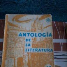 Libros de segunda mano: ANTOLOGÍA DE LA LITERATURA. EDITORIAL LUIS VIVE. 6º CURSO. EL LIBRO ESTA FIRMADO POR EL EXP. EST9B6. Lote 95722618