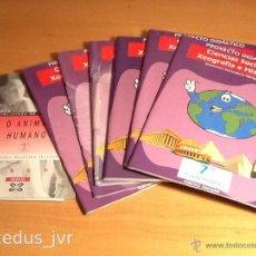 Libros de segunda mano: LIBROS DE TEXTO CIENCIA SOCIAIS TÓRCULO FILOSOFÍA O ANIMAL HUMANO XERAIS GALEGO. Lote 45315699