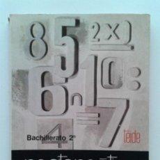 Libros de segunda mano: MATEMATICA 2 - 2º BACHILLERATO - EDITORIAL TEIDE - 1976. Lote 45327820