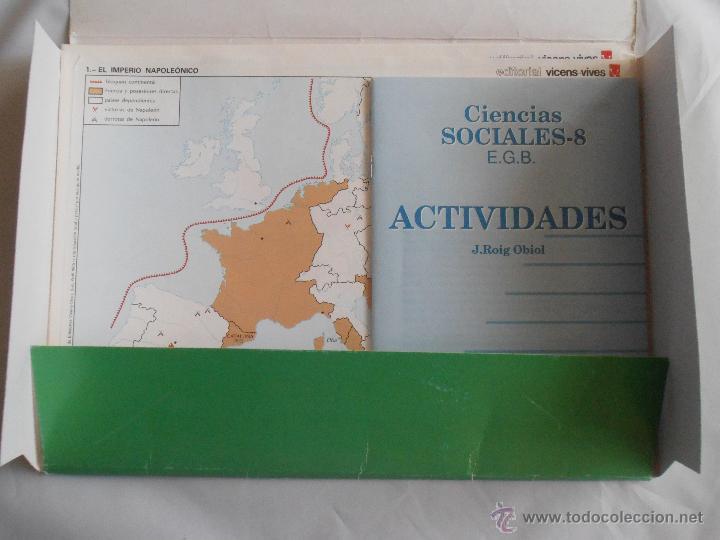 Libros de segunda mano: BLOC DE 24 MAPAS MUDOS ACTIVIDADES CIENCIAS SOCIALES 8 EGB VINCES VIVES - Foto 2 - 45500815