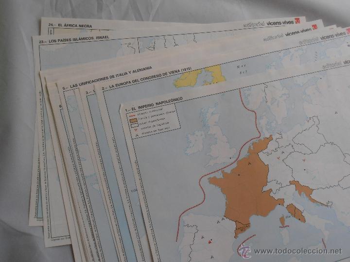 Libros de segunda mano: BLOC DE 24 MAPAS MUDOS ACTIVIDADES CIENCIAS SOCIALES 8 EGB VINCES VIVES - Foto 3 - 45500815