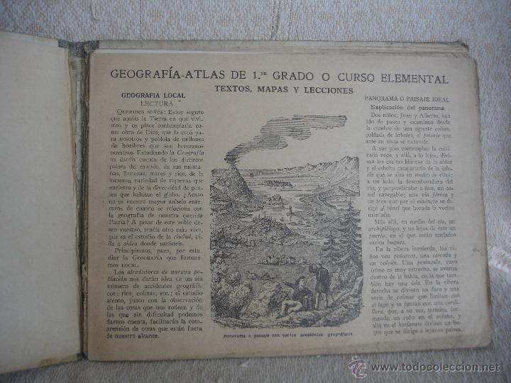 Libros de segunda mano: Geografía 1er grado.Atlas. Ediciones Bruño - Foto 3 - 45627835