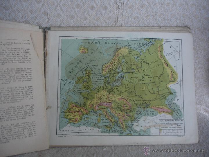 Libros de segunda mano: Geografía 1er grado.Atlas. Ediciones Bruño - Foto 4 - 45627835