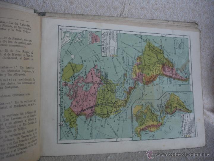 Libros de segunda mano: Geografía 1er grado.Atlas. Ediciones Bruño - Foto 5 - 45627835