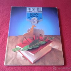 Libros de segunda mano: LIBRO DE TEXTO RELIGION CATOLICA EP 2º CICLO GUADIEL GRUPO EDEBE DEP. LEGAL 1993 VER DESCRIPCION. Lote 45681596