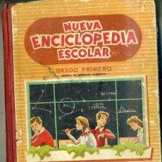 Libros de segunda mano: NUEVA ENCICLOPEDIA ESCOLAR GRADO PRIMERO (H. SANTIAGO RODRÍGUEZ, BURGOS. 1956). Lote 45757013