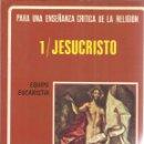 Libros de segunda mano: JESUCRISTO, ENSEÑANZA DE RELIGIÓN. PAMPLONA. 1980. Lote 45931034