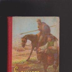 Libros de segunda mano: DON QUIJOTE DE LA MANCHA - EDICIÓN ESCOLAR - EDITORIAL LUIS VIVES 1953 / ILUSTRADO. Lote 45966714