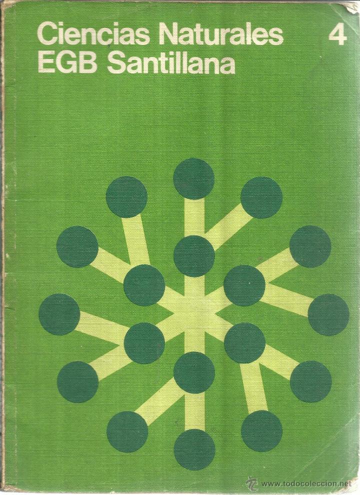 CIENCIAS SOCIALES. 4º EGB. SANTILLANA. MADRID. 1976 (Libros de Segunda Mano - Libros de Texto )