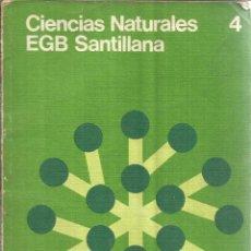 Libros de segunda mano: CIENCIAS SOCIALES. 4º EGB. SANTILLANA. MADRID. 1976. Lote 45990890