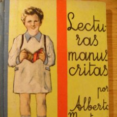 Second hand books - LECTURAS MANUSCRITAS - ALBERTO MONTANA - 1943 - 45992010
