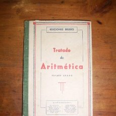 Libros de segunda mano: TRATADO DE ARITMÉTICA ELEMENTAL. Lote 46033695