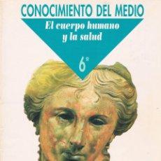 Libros de segunda mano: CONOCIMIENTO DEL MEDIO (EL CUERPO HUMANO Y LA SALUD) 6º PRIMARIA SANTILLANA GRAZALEMA. Lote 46136782