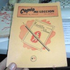 Libros de segunda mano: COPIO MILECCION CUADERNO DEL PARVULITO. Lote 46156649