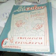 Libros de segunda mano: BICOLOR INICIACION A LA CALIGRAFIA NUMERO 3. Lote 46175425