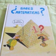 Libros de segunda mano: M69 LIBRO DE APRENDER MATEMATICAS BASICAS ¿SABES MATEMATICAS? EDITORIAL FOMENTO DE BIBLIOTECAS 1989. Lote 46234155