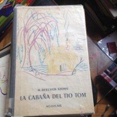 Libros de segunda mano: DEFOE ROBINSON CRUSOE AGUILAR LIBRO DE ESCUELA COLECCION EL GLOBO DE COLORES . Lote 46444756