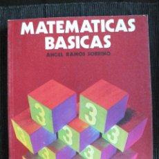 Libros de segunda mano: MATEMATICAS BASICAS 3 EGB , NUEVO, 1981, EDITORIAL ANAYA. Lote 46548264