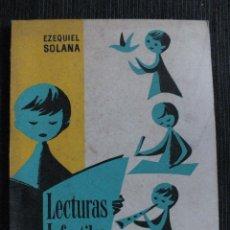 Libros de segunda mano: LECTURAS INFANTILES PRIMER LIBRO DE LECTURA CORRIENTE 1963 EDITORIAL ESCUELA ESPAÑOLA. Lote 114375063