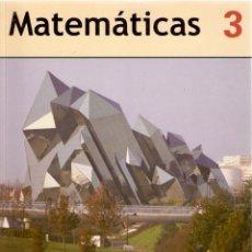 Libros de segunda mano: MATEMÁTICAS 3º ESO EDEBÉ. Lote 47017128