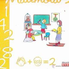 Libros de segunda mano: CUADERNO MATEMOLA 2 EDUCACION INFANTIL ED . EVEREST .. Lote 47017227