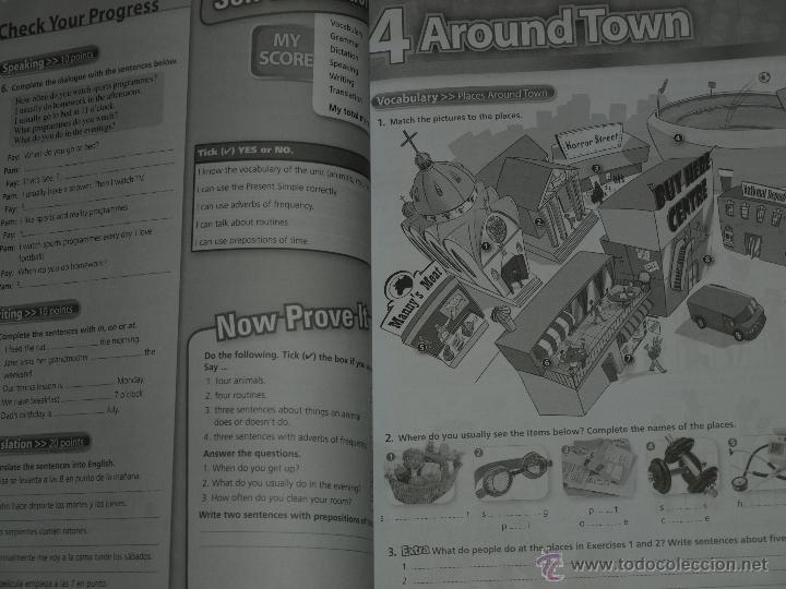 workbook real english 1 eso. burlington books. - Comprar