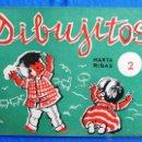 Libros de segunda mano: DIBUJITOS. Nº 2. MARTA RIBAS. MERIN. LA ESCOLAR.. Lote 168428125