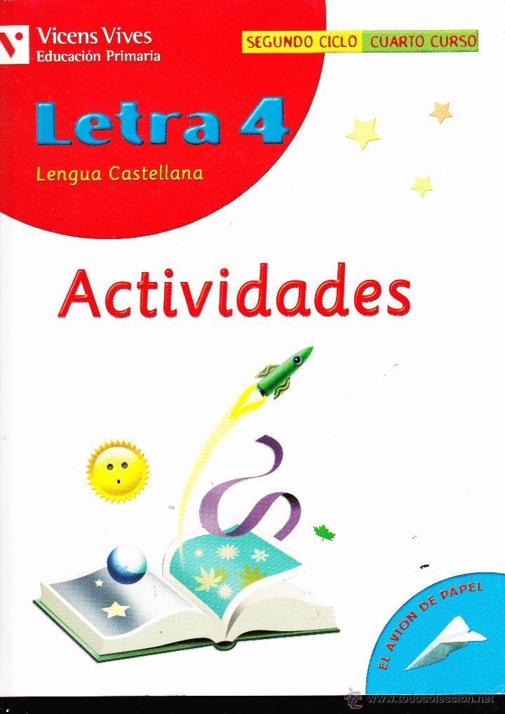 letra 4 , lengua castellana , actividades - Comprar Libros de texto ...