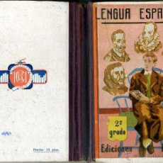 Libros de segunda mano: LENGUA ESPAÑOLA SEGUNDO GRADO (BRUÑO, C. 1960) . Lote 47253048