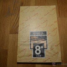 Libros de segunda mano: ANAYA - ANTOS - LECTURAS Y COMENTARIOS 8 - EQUIPO TROPOS - 8º EGB - 1990 PERFECTO. Lote 47297890