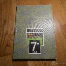 Libros de segunda mano: ANTOS. LECTURAS Y COMENTARIOS. EQUIPO TROPOS, 7º EGB. ED. ANAYA. PERFECTO. Lote 47300786